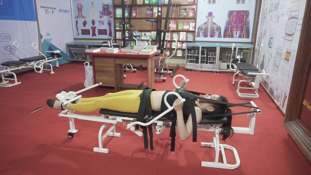 Máy kéo giãn cột sống lưng